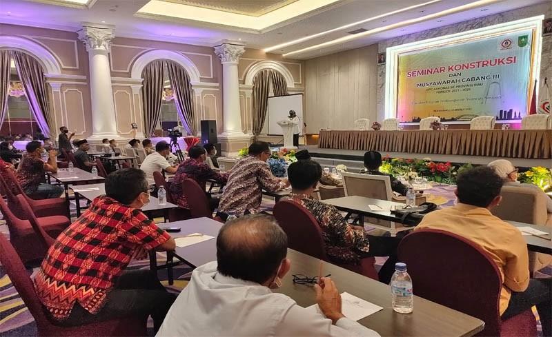 Pemprov Riau Dorong Askonas Riau Gandeng Kontraktor Lokal untuk mengisi Pembangunan