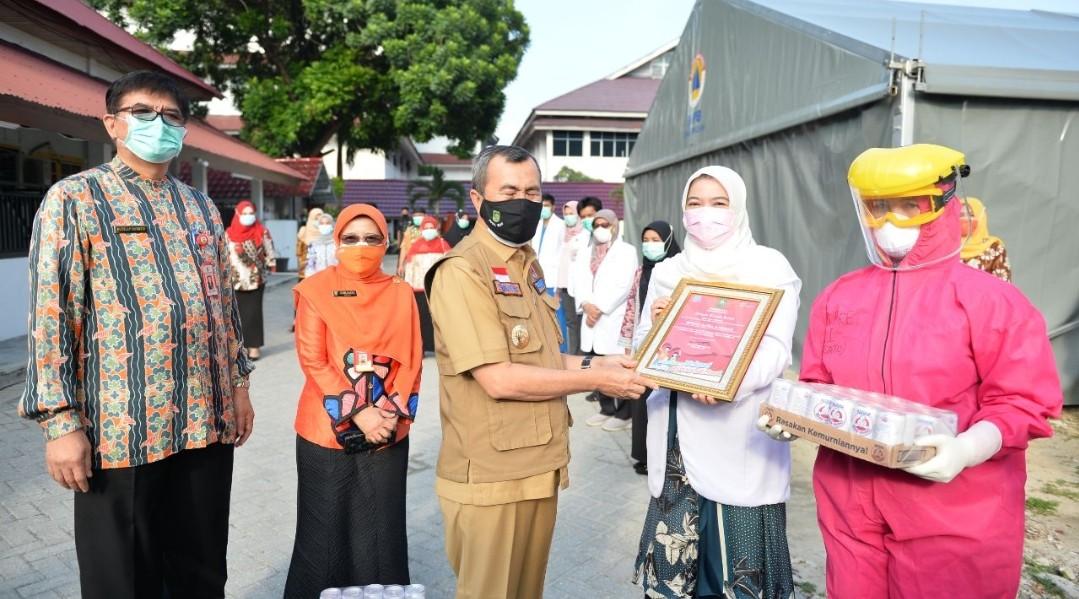 233 Pasien Covid-19 Riau Sembuh, Penambahan Kasus Baru 132 Kasus Konfirmasi
