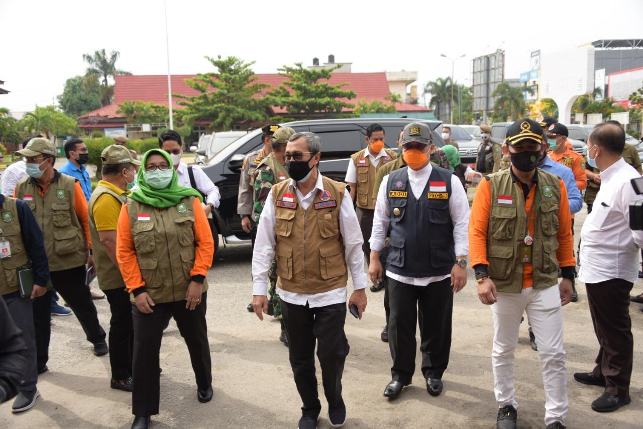 Kunjungan Gubernur dan Forkompinda Provinsi Riau Ke Kabupaten Bengkalis - (Ada 10 foto)